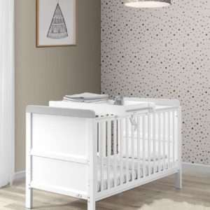 Sophia Cot Bed and Cot Top Changer
